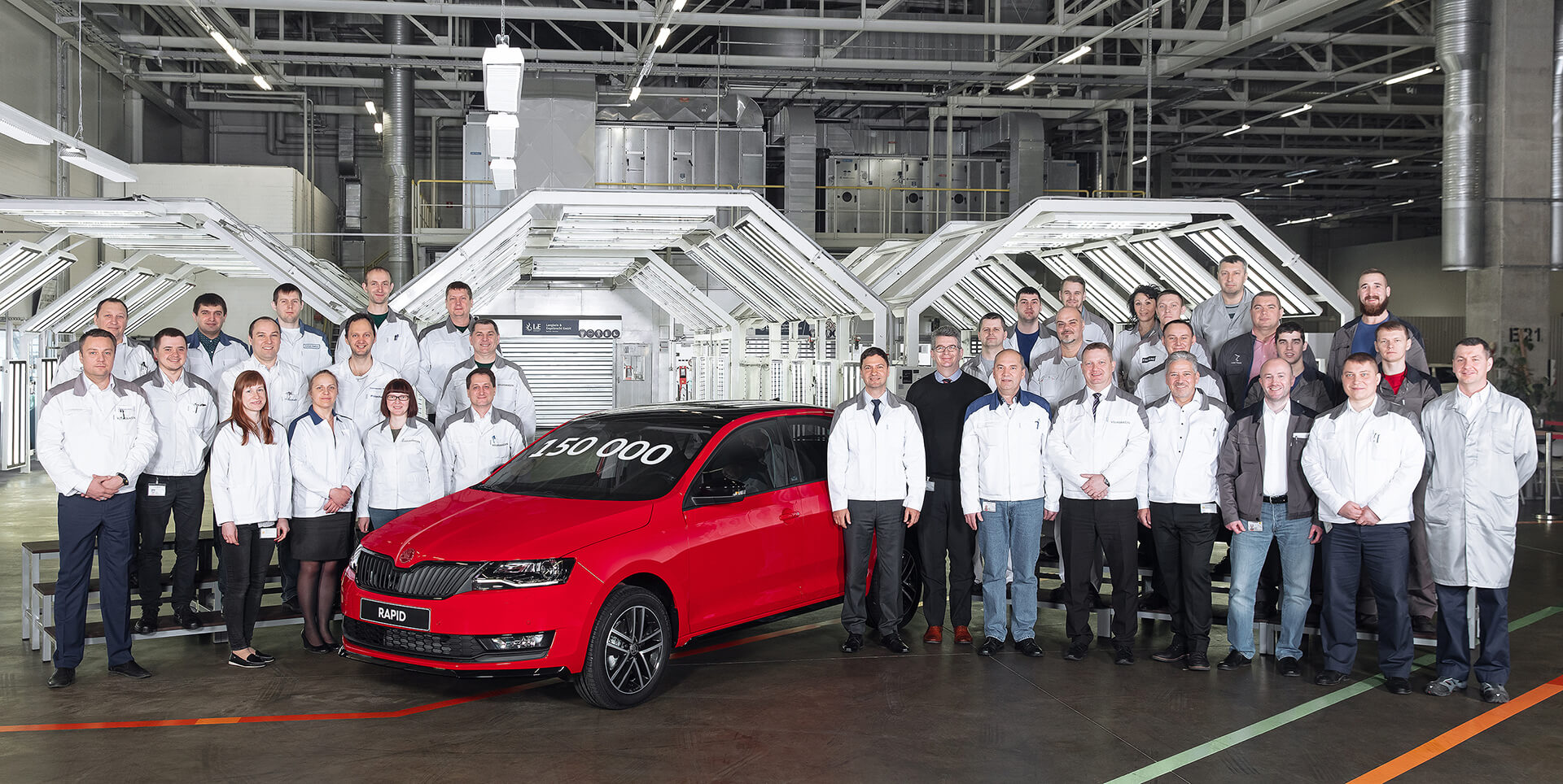 New Milestone for ŠKODA in Russia as 150,000th RAPID Rolls off the Assembly Line